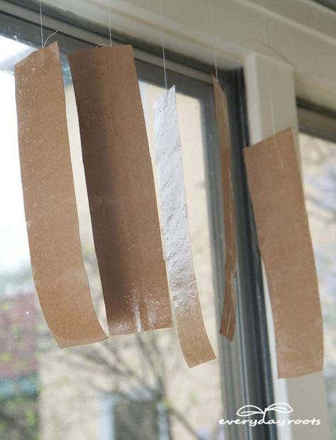 Get Rid of Flies with Homemade Sticky Fly Paper   http://everydayroots.com/sticky-paper-fly-trap