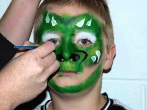 how to make face paint without cornstarch or shortening