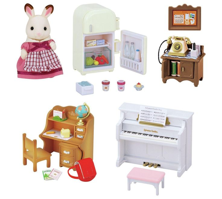 Buy Sylvanian Families Classic Furniture Set at Argos.co.uk, visit Argos.co.uk to shop online for Animal playsets and collectables, Toys