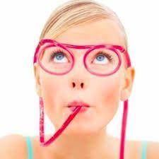 Wacky Straw Glasses