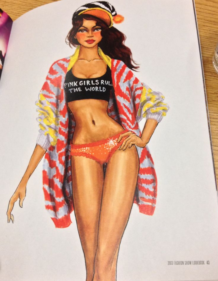 Fashion style Tfs victorias exclusive secret fashion show sketches for woman
