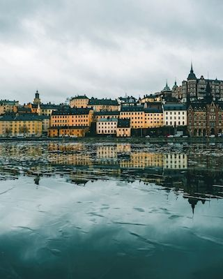 Winter in Stockholm. Available as poster at printler.com, the marketplace for photo art. Photographer Carl Johan Johansson.