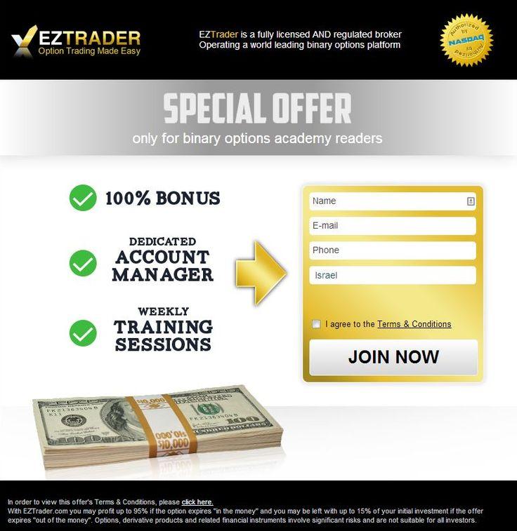 Offerte speciali di EZTrader!  http://world-forex-directory.blogspot.it/2013/12/eztrader.html