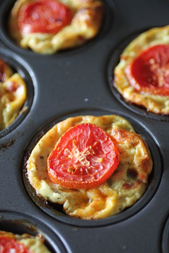 55 Calorie Skinny Egg Muffins