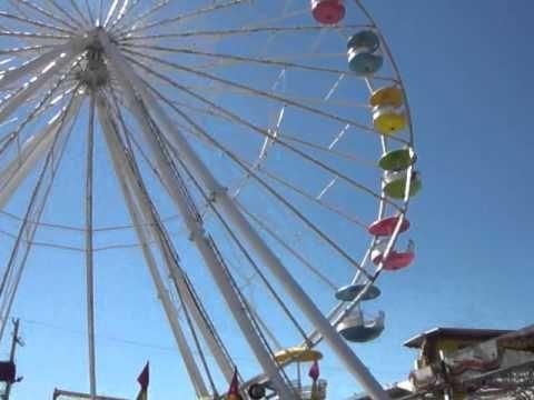 ▶ erie county fair 2013 giant wheel - YouTube