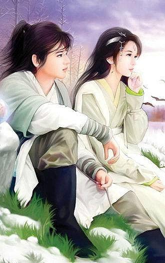 【天狼收藏】情侣手绘插画集(04) - ...