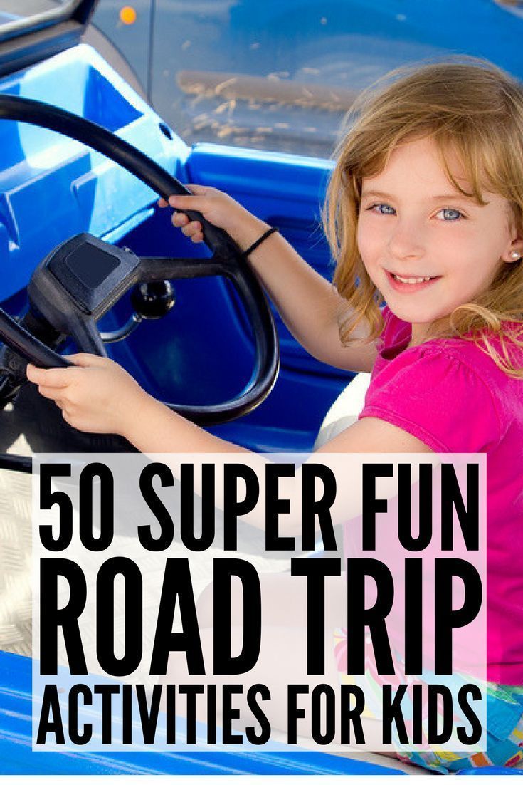 50 Road Trip Activities for Kids! | Long car rides can be challenging at the best of times, but if you throw a couple of toddlers into the mix, it can be downright painful. This collection of road trip activities for kids is loaded with things to do on family vacations! From DIY busy bags and scavenger hunts to printables and great Dollar Store finds, we've got all the tips you need to make family vacations FUN! #roadtripactivities #travelactivities #kidsactivities