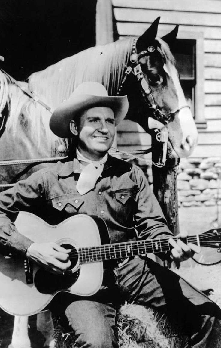 Gene autry 1907 tioga tx 1998 studio city ca gained fame as a singing cowboy on the radio in movies and on television he was also one of the most