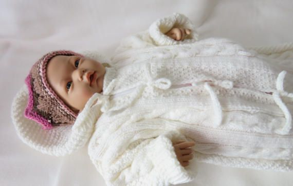 Cocoon Newborn Baby Wrap Swaddle Blanket Toddler Knit Blanket