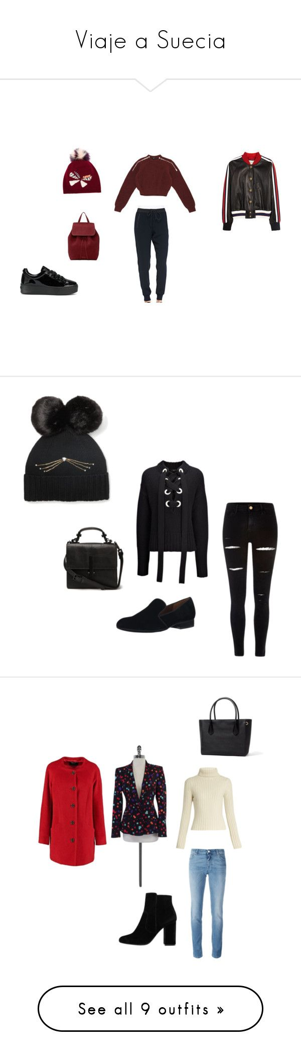 """""""Viaje a Suecia"""" by dacota ❤ liked on Polyvore featuring Vince, Gucci, Mansur Gavriel, Fendi, Kenzo, Joseph, River Island, Nine West, Kate Spade and Givenchy"""