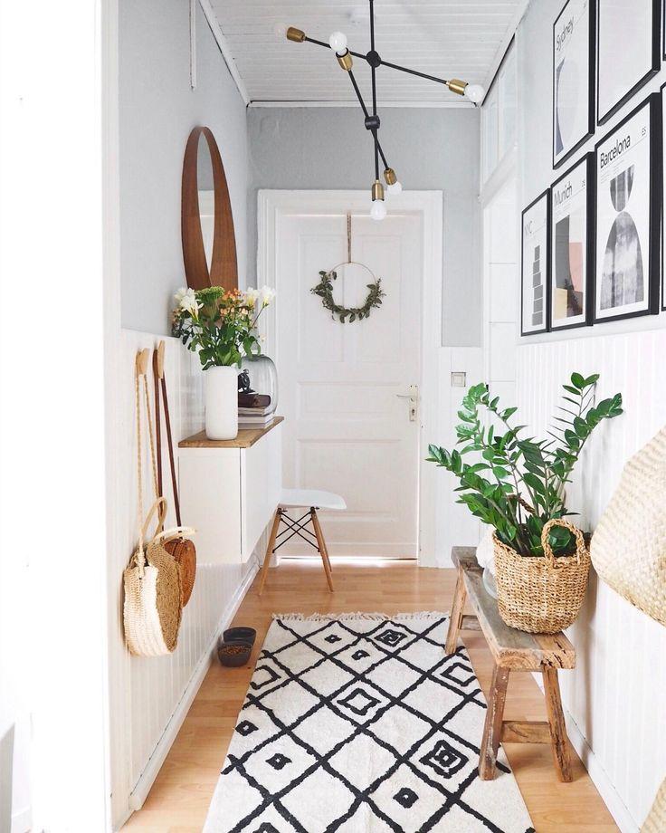 Wandfarben Flur Ideen: Pin Auf Flur & Garderobe