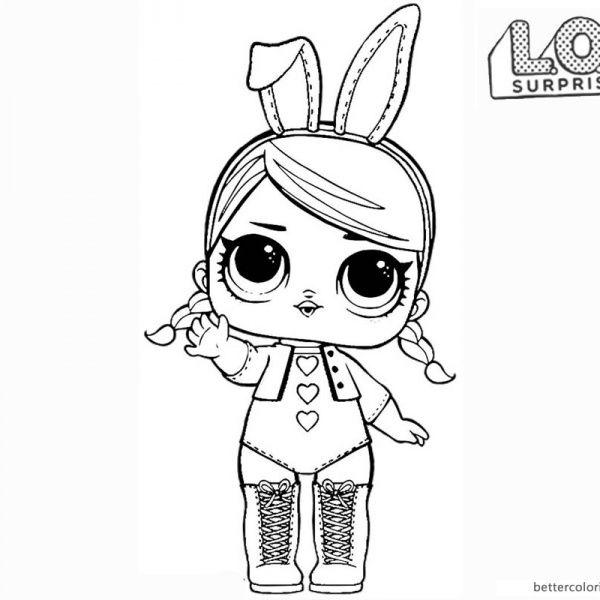 Lol Surprise Dolls Free Printable Coloring Pages