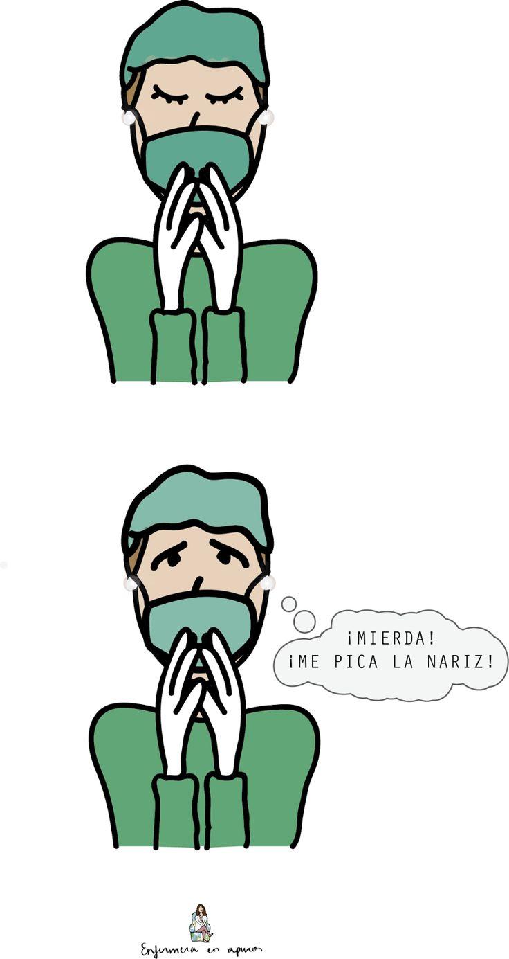 Enfermera en apuros