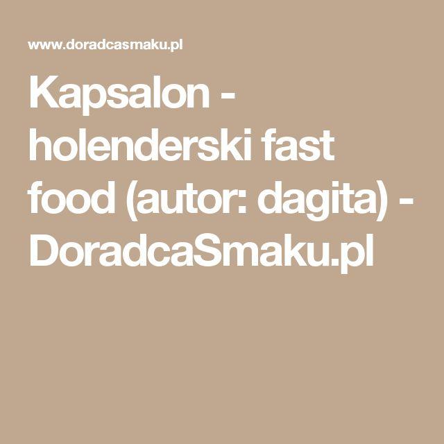 Kapsalon - holenderski fast food (autor: dagita) - DoradcaSmaku.pl