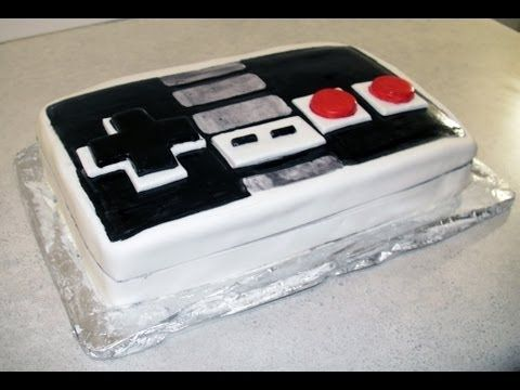 Retro Nintendo Controller Kool-aid Cake (how-to), My Crafts and DIY Projects