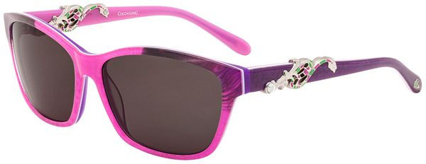 #Sunglasses with contrasting #colours and the charm of the Far East by #CocoSong