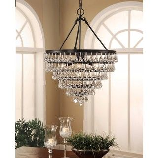 Shop for Abbyson Tiffany Crystal Tear Drop Large Chandelier. Get free shipping at Overstock.com - Your Online Home Decor Outlet Store! Get 5% in rewards with Club O!