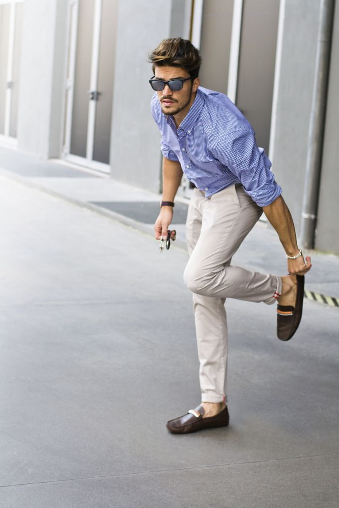 Mariano Di Vaio for Tods shoes!