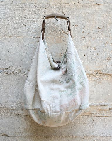 T.K Garment Supply - Tote Bag Made From Vintage Japanese Sake bags