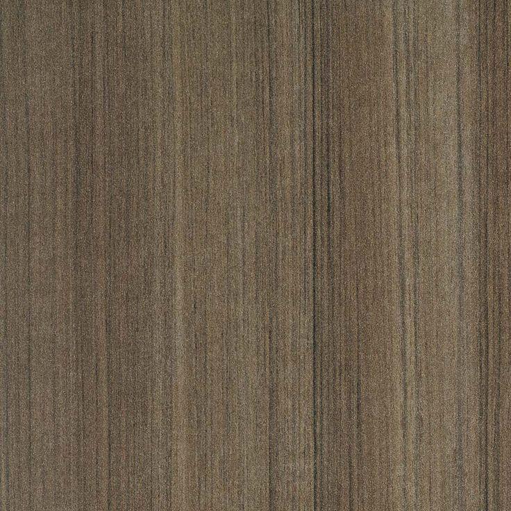 COMBAT TEAK MATT - A mid-dark grey-beige teak timber pattern with distinct black random linear grain.