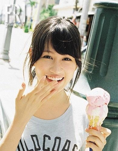 アイスクリームと前田敦子