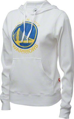 Golden State Warriors Women's White Logo Long Sleeve T-Shirt