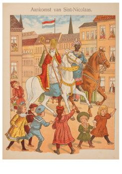 Aankomst van Sint Nicolaas