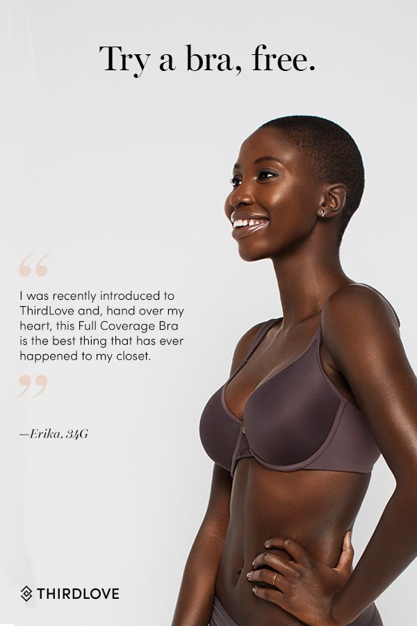 Find a better-fitting bra with our Fit Finder mini quiz and try it free for 30 days. Just pay $2.99 for shipping.