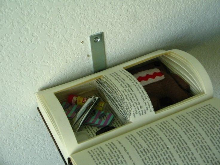 How to make a wall shelf. Floating Book Shelf - Step 10