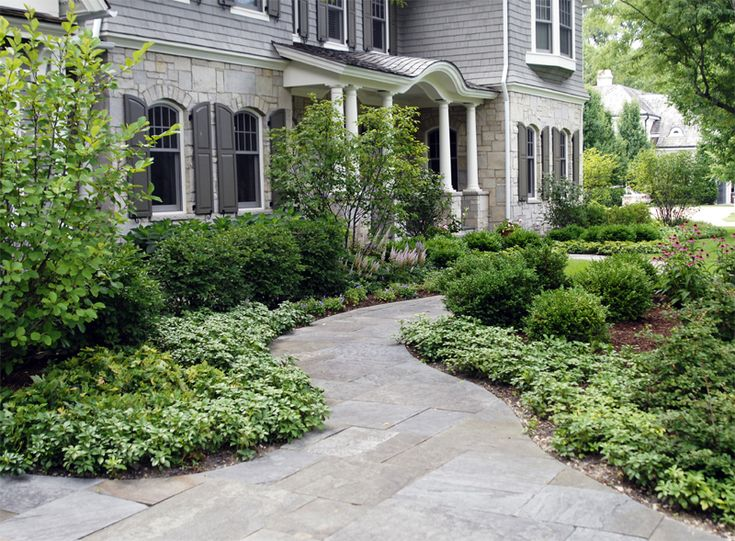 Colonial Revival Landscape Design Google Search
