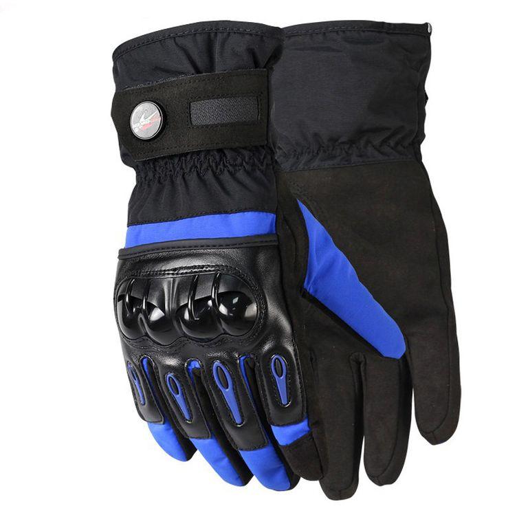 Screen Touch Winter Motorcycle Gloves Outdoor Racing 100% Waterproof Windproof Motorcross Dirt Bike Full Finger Protective Glove