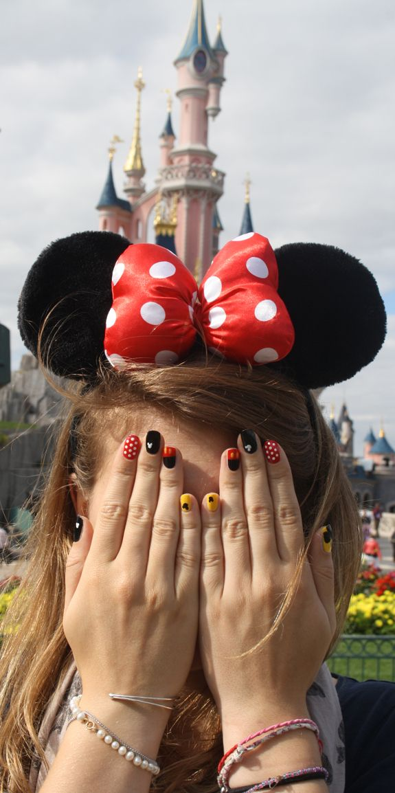 Mickey Mouse Nails.