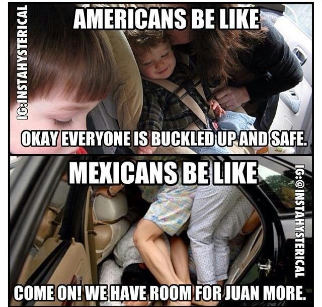 Mexican Parents Vs White Parents