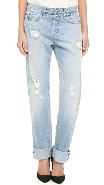 J Brand The Johnny Boyfriend Jeans