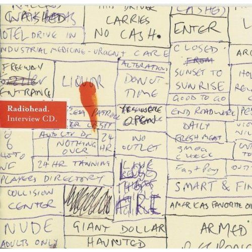 Radiohead's Hail to the Thief inteview CD, artwork by Stanley Donwood