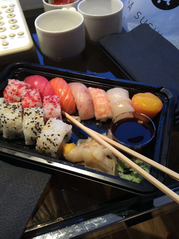 Sushi from Rå in Tromsø