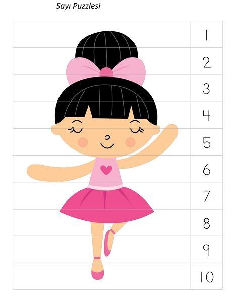 Bu Sayfada Okul öncesi Dönemde Kullanılabilecek Balerin Etkinlik