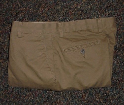 Dockers D4 Relaxed Fit Khakis Mens Slacks Pants 36x30 #DOCKERS #Chinos