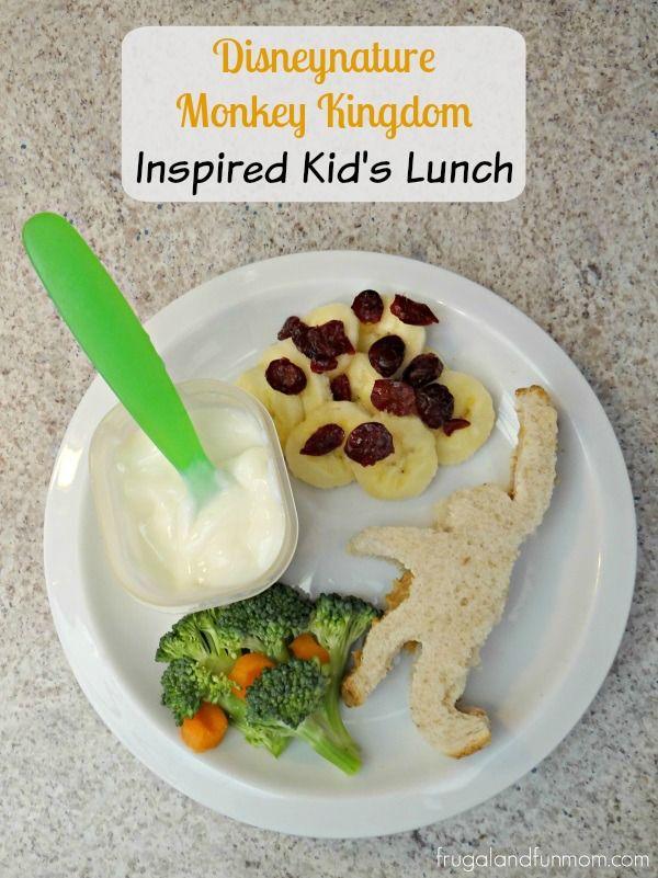 Disneynature Monkey Kingdom Inspired Kid's Lunch Plus FREE Activity Sheets! #MonkeyKingdomEvent