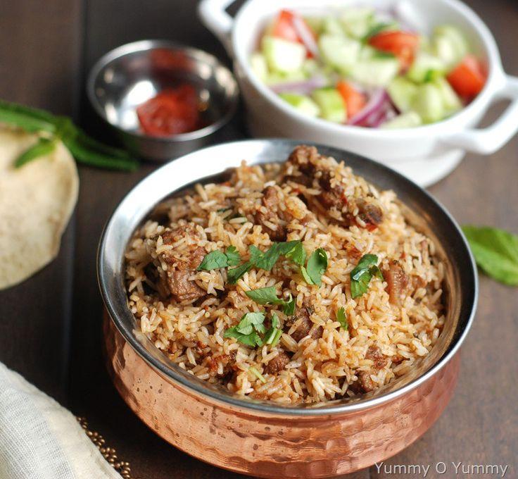 Bakri Id Mutton Biryani Recipe