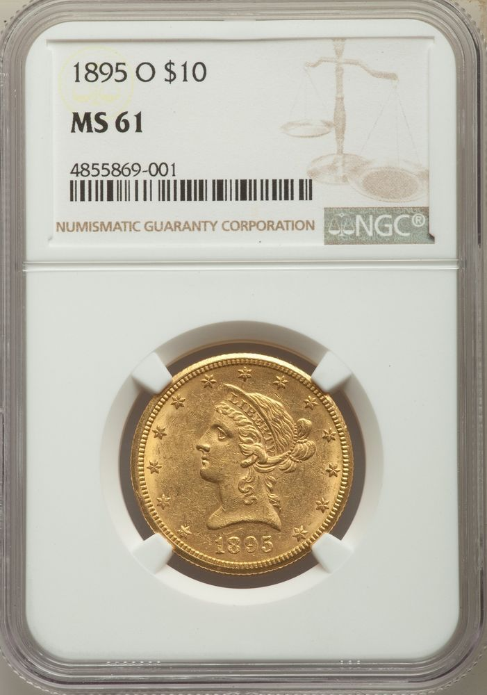 1895 O Us Gold 10 Liberty Head Eagle Ngc Ms61 Goldcoins Coins Gold Coins For Sale Gold Eagle Coins Gold Bullion Bars
