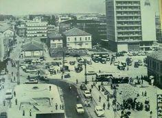 Mersin 1970 ler Gümrük meydanı..