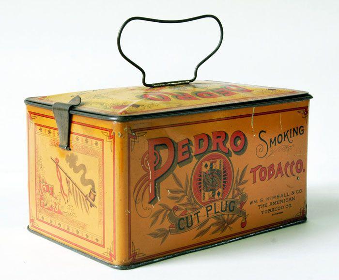 Pedro Cut Plug Smoking Tobacco tin