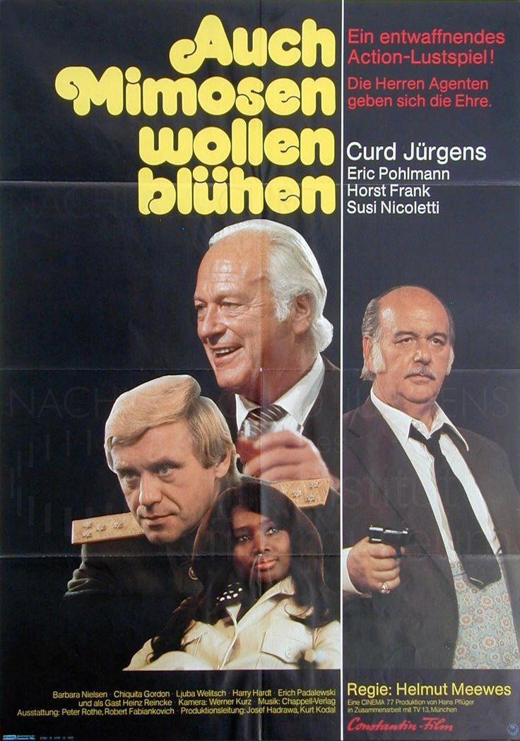 Nachlass Curd Jürgens | AUCH MIMOSEN WOLLEN BLÜHEN (1976) Plakat