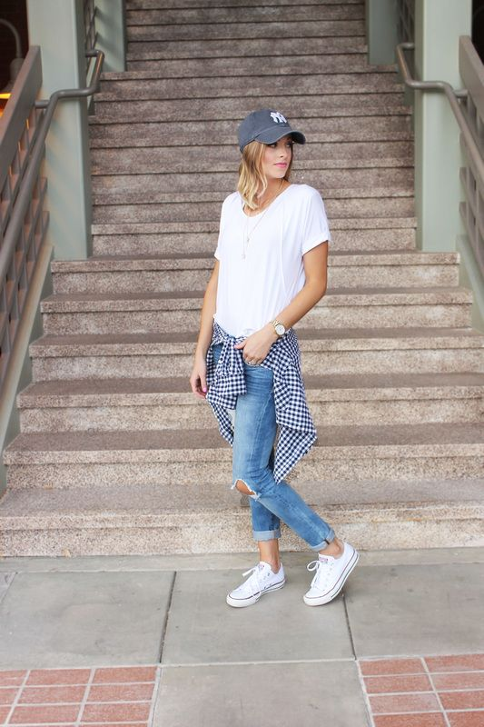 Navy Grace Blog by Camilla Thurman // A Fashion + Lifestyle blog -- Gingham Day Look