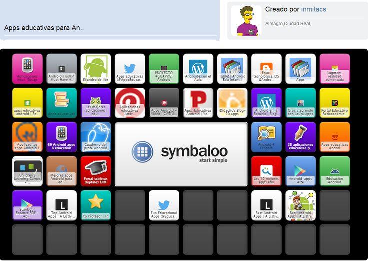 Crea y aprende con Laura: Symbaloo de Apps educativas Android de Inma Contreras @inmitacs