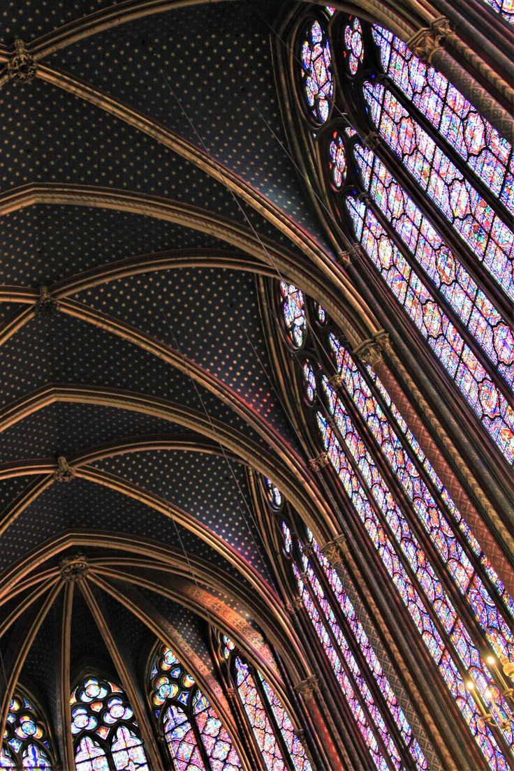 What to visit in Paris? La Sainte Chapelle!