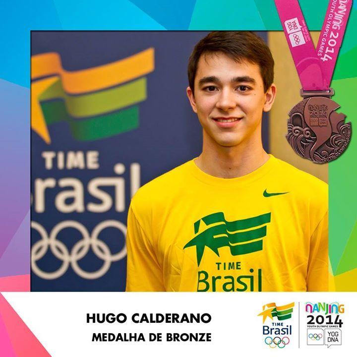 Hugo Calderano faz história no tênis de mesa e leva o bronze nos Jogos Olímpicos da Juventude