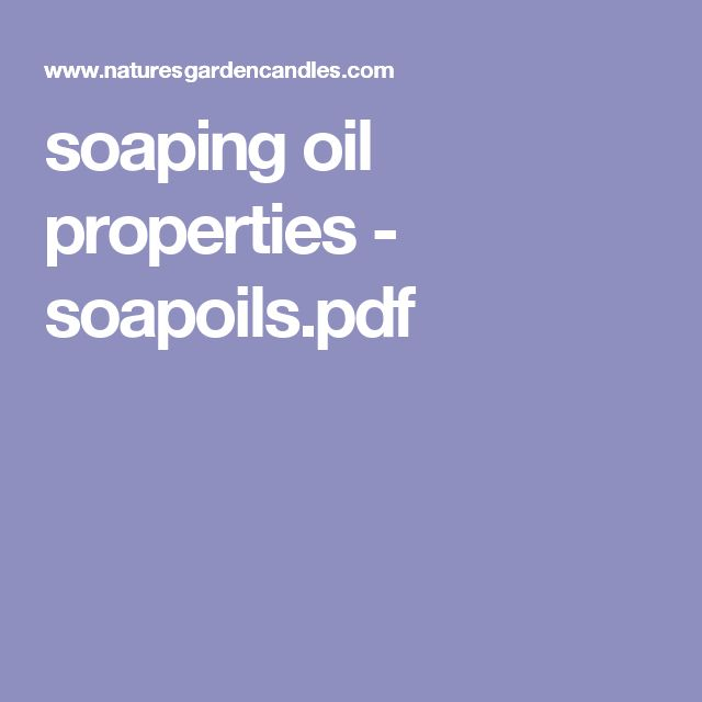 soaping oil properties - soapoils.pdf