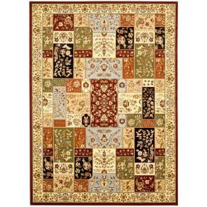 home depot living room rugs safavieh lyndhurst assorted ivory 7 ft 9 in x 10 ft 9 21110